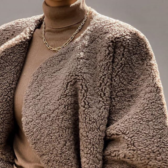What I Screenshot This Week: The Stunning Teddy Coat That Stopped Me In My Tracks