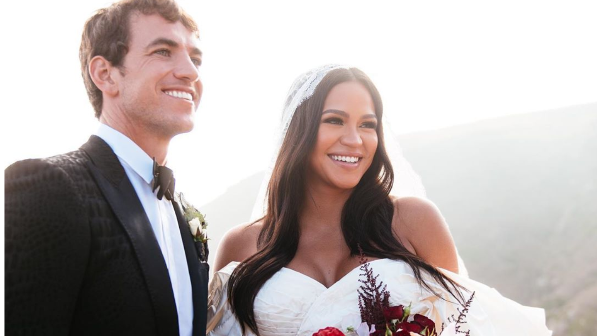 Cassie And Alex Fine Share More Stunning Wedding Photos