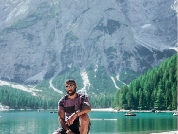 Black Travel Vibes: Explore Majestic Lakes And Mountains in Italy