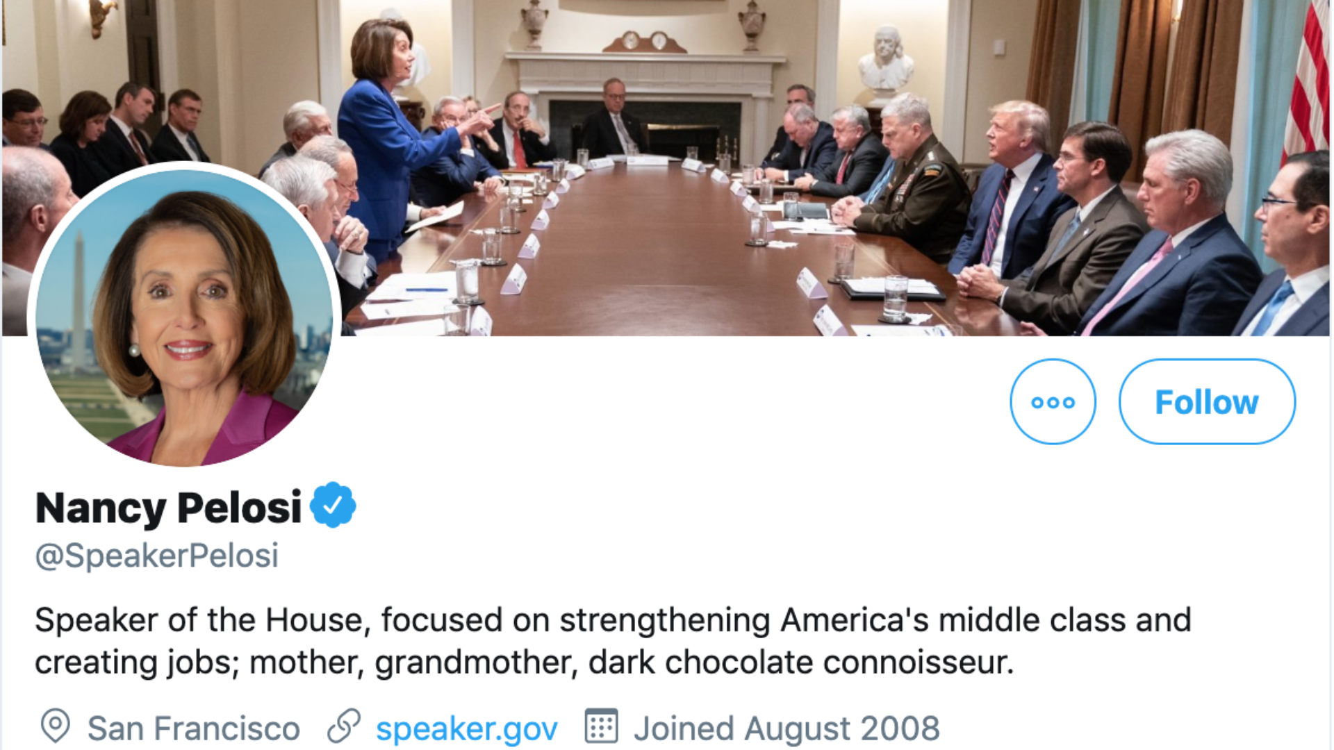 Meeting On Syria Leads To Nancy Pelosi Vs Trump Twitter Fued
