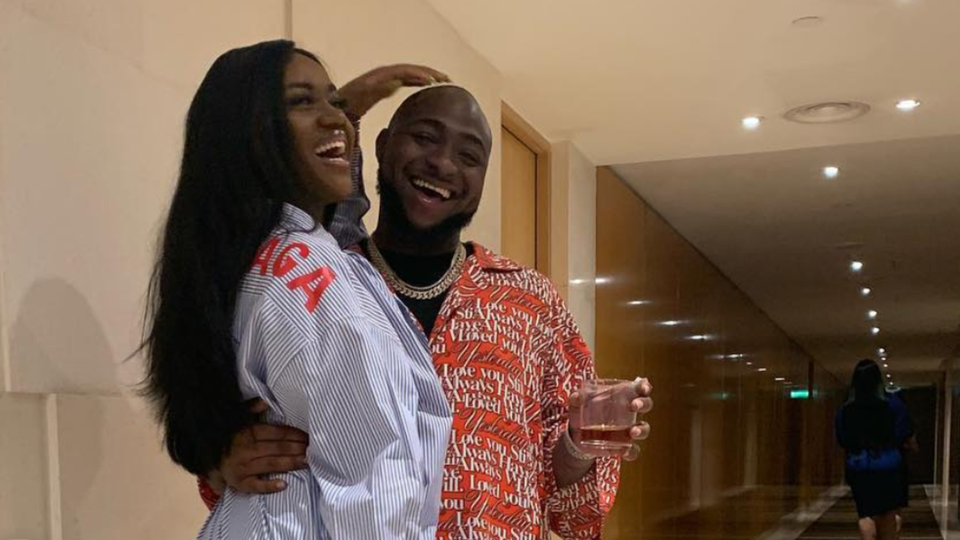 Singer Davido Welcomes A Son With Fiancée Chioma Rowland