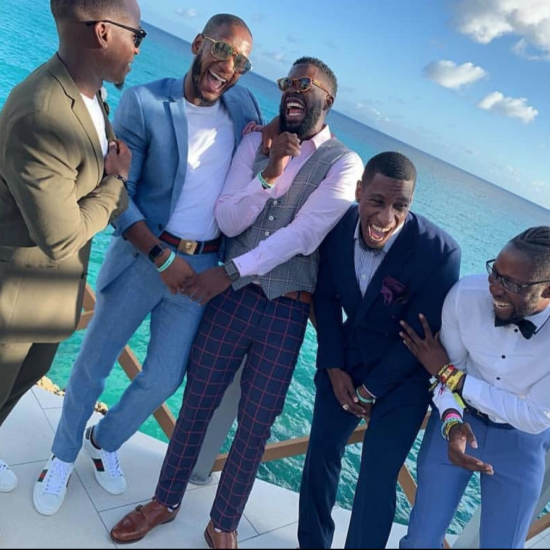 Black Men Smiling All Over The World Is The Feel-Good Moment You Needed