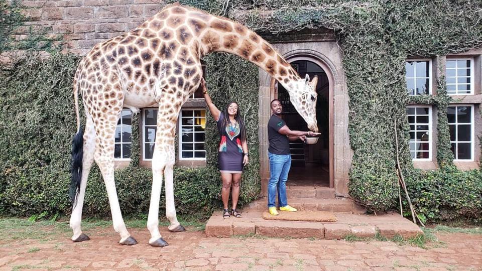 16 Times Jetsetters Went Wild For Giraffe Manor