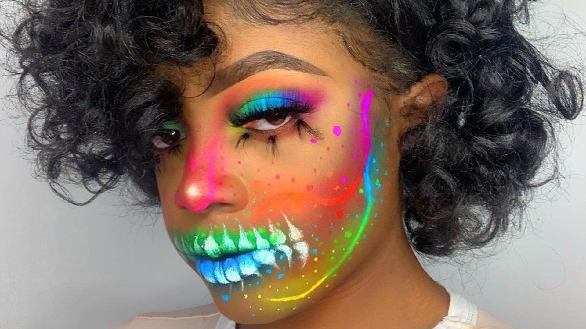 These Crayon Cuties Are Next Level With Halloween Makeup