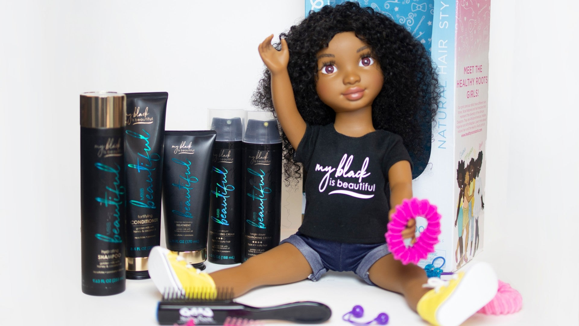 Healthy Roots Dolls Teams Up With MBIB On Doll Beauty Kit