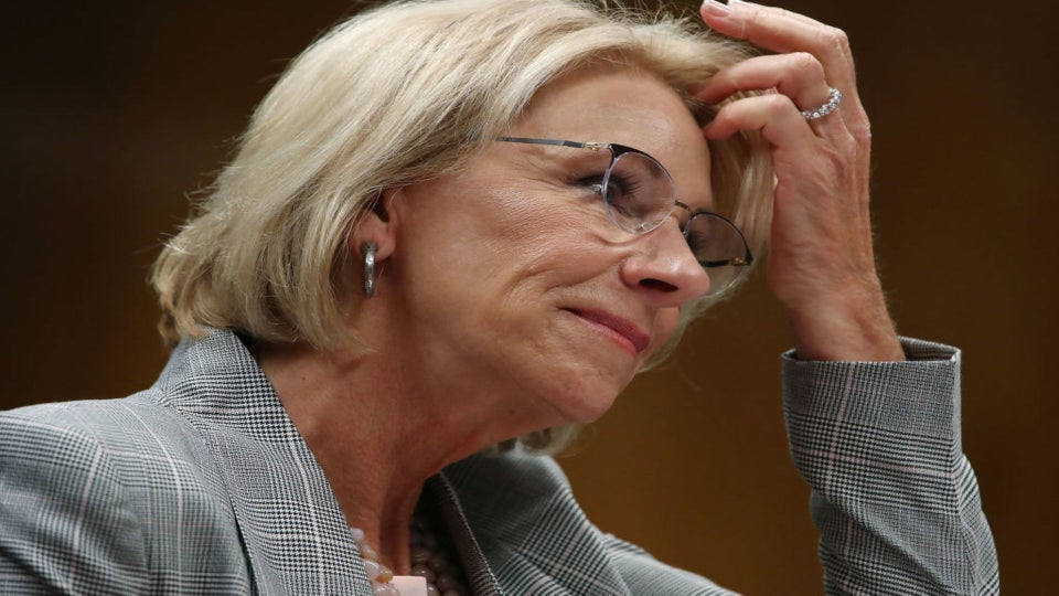 Betsy DeVos Held In Contempt Of Court In Student Loans Case