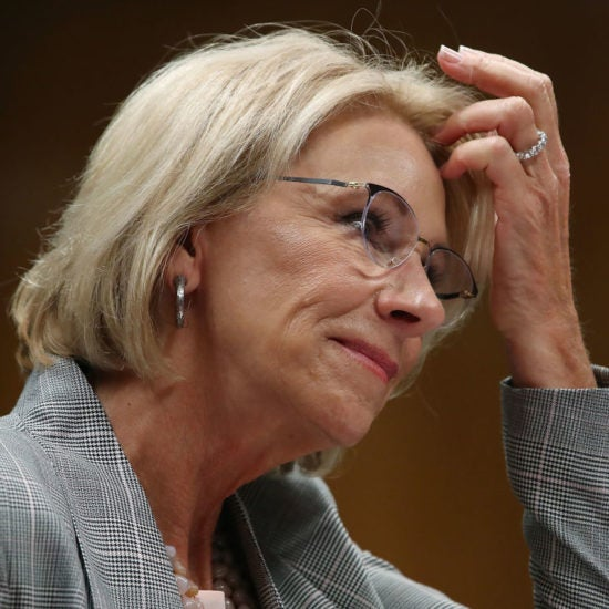 Federal Judge Threatens Betsy DeVos With Jail In 2018 Student Loan Case