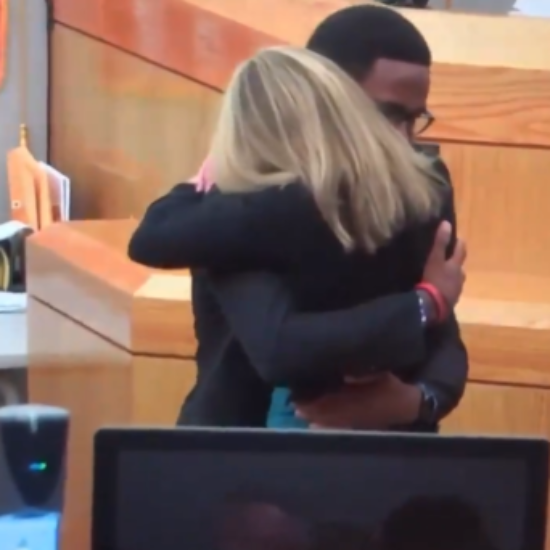 Hugs From Judge And Brother At Amber Guyger Sentencing Sets Off Black Twitter