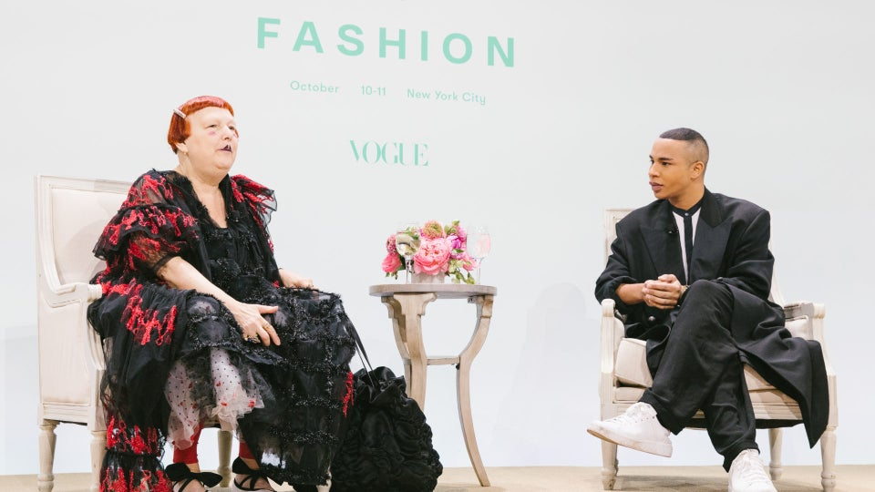 Olivier Rousteing Talks Candidly About Being Adopted and Inclusion