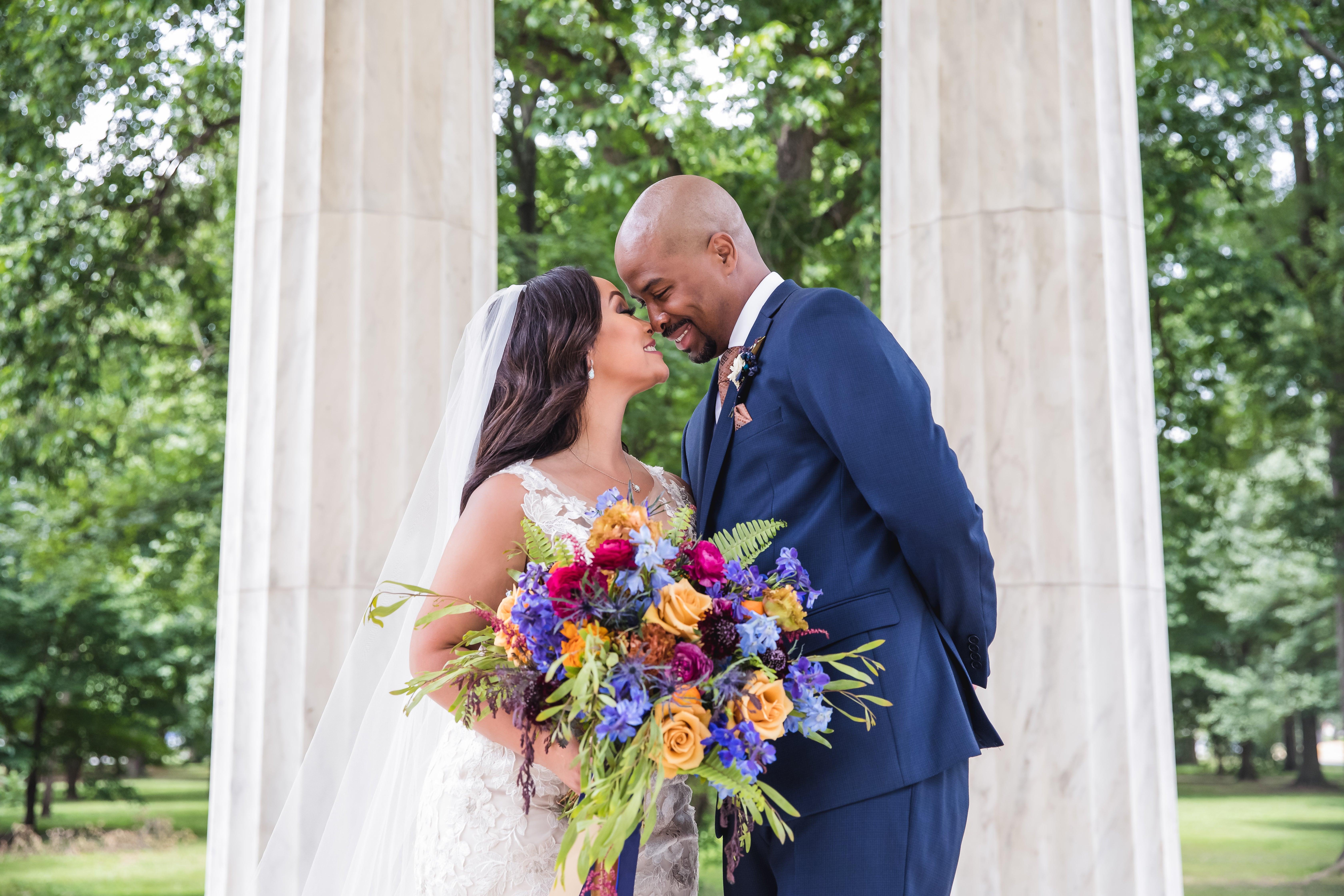 Bridal Bliss: Miya and Brandon's Washington, D.C., Wedding Had A Vintage Feel