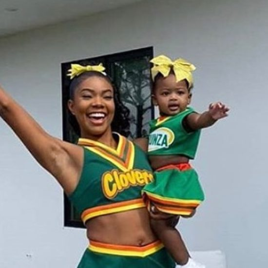 Gabrielle Union And Kaavia James Dress Up As The East Compton Clovers For Halloween
