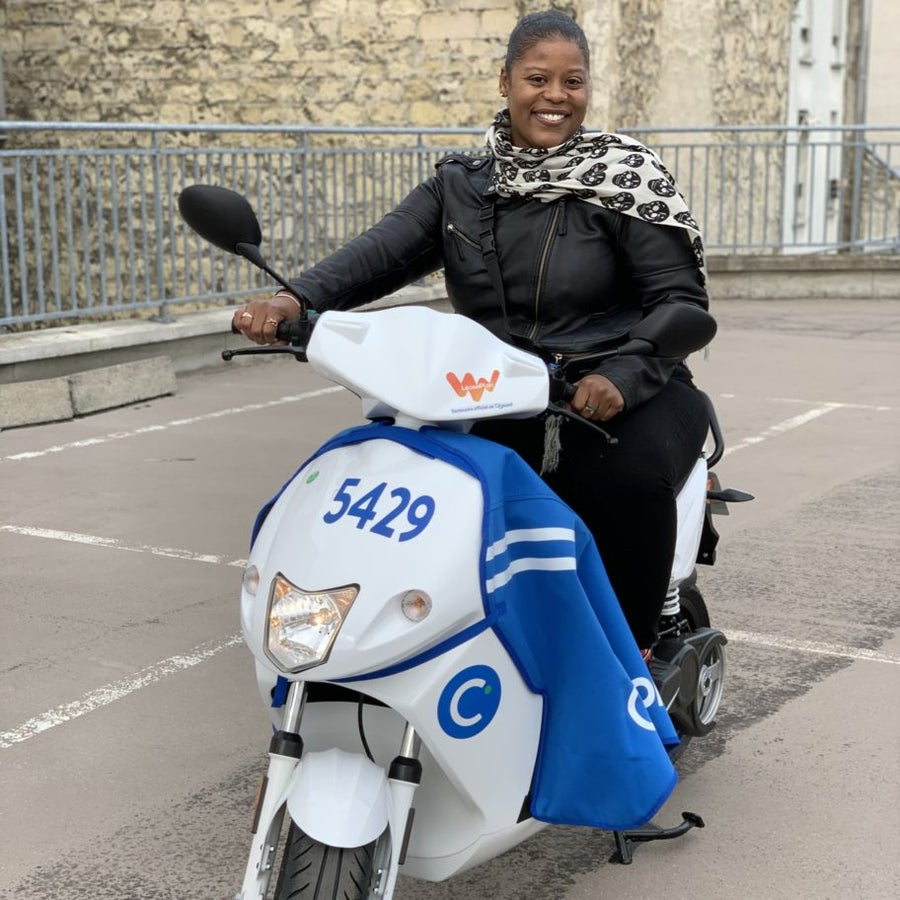 How To See Black Paris on a Moped For The Low