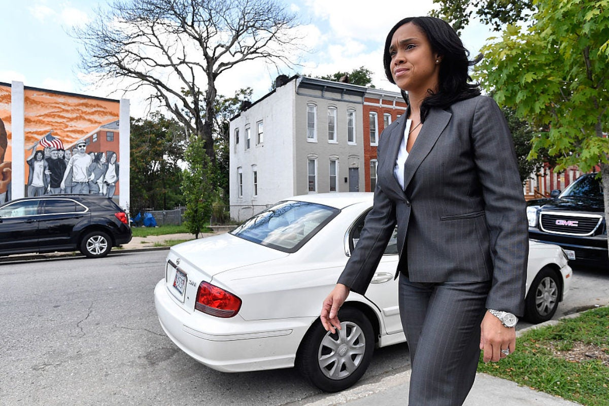 Marilyn Mosby in Baltimore brings charges against correctional officers