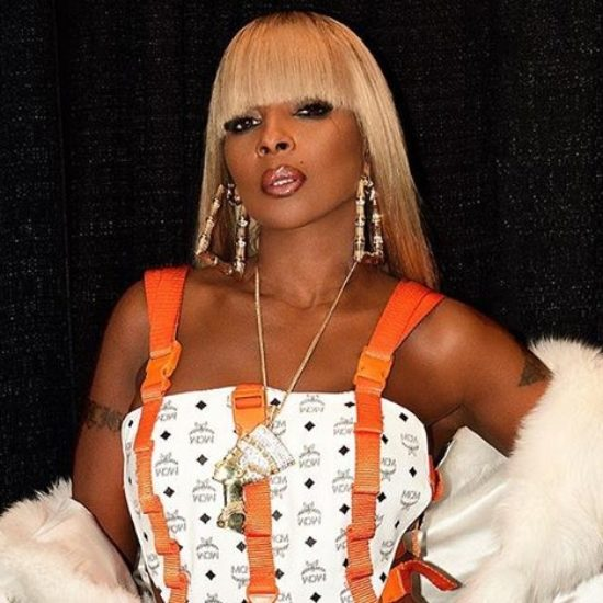 Mary J. Blige's Tour Looks Were Next Level