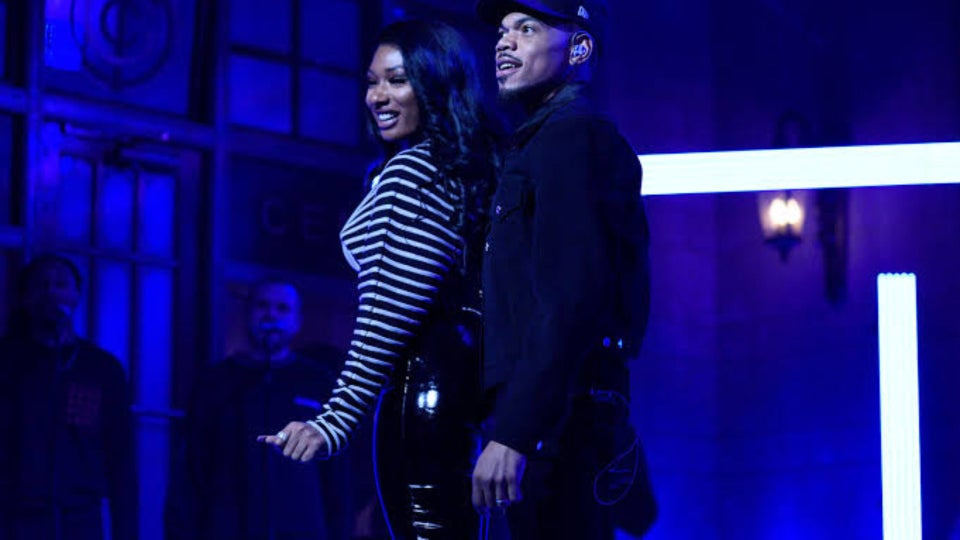 Chance The Rapper Hits The 'SNL' Stage With Surprise Guest Megan Thee Stallion
