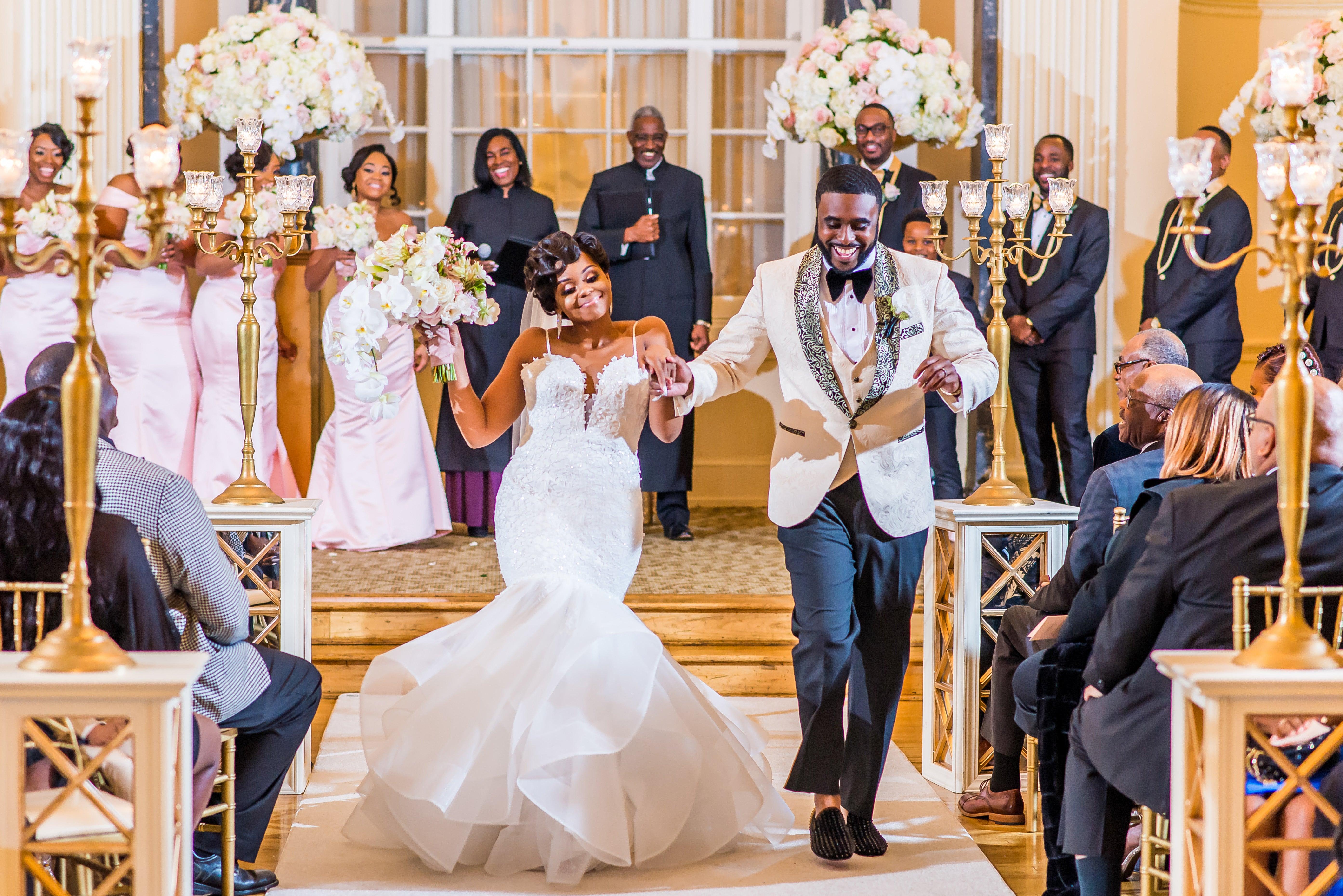 Bridal Bliss: Kendra and Jonathan's Black Tie Atlanta Wedding