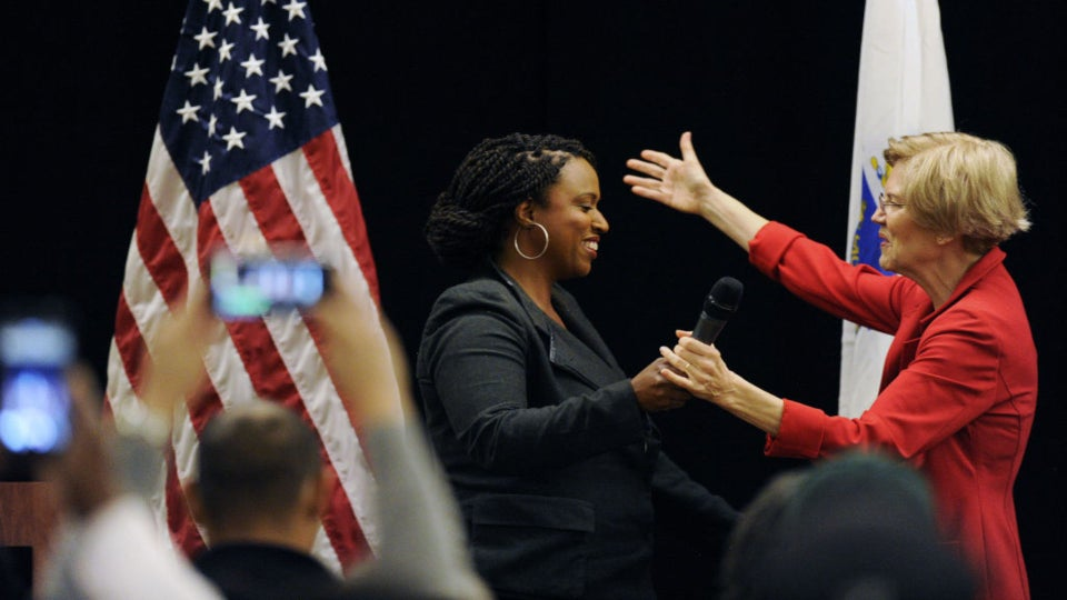 Ayanna Pressley Endorses Elizabeth Warren