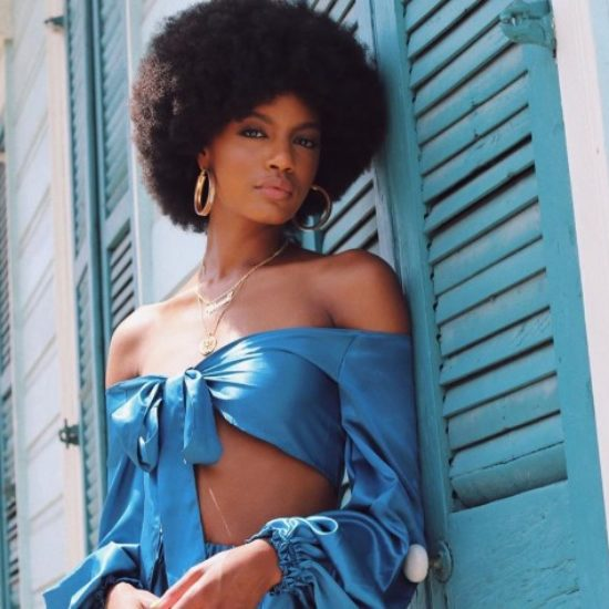 Ebonee Davis, Teyonah Parris And Other Beauties With Covetable Afros