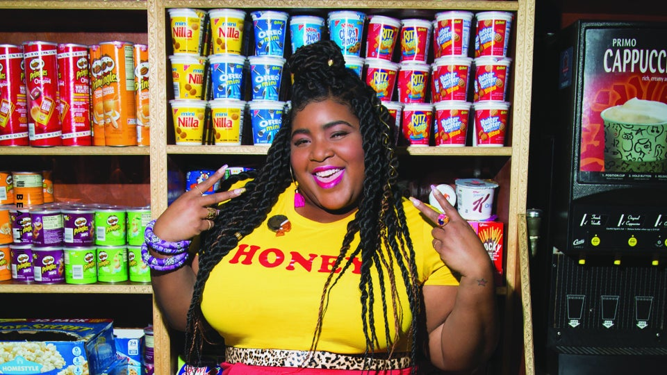 Comedienne Dulcé Sloan Is On A Beauty Expedition