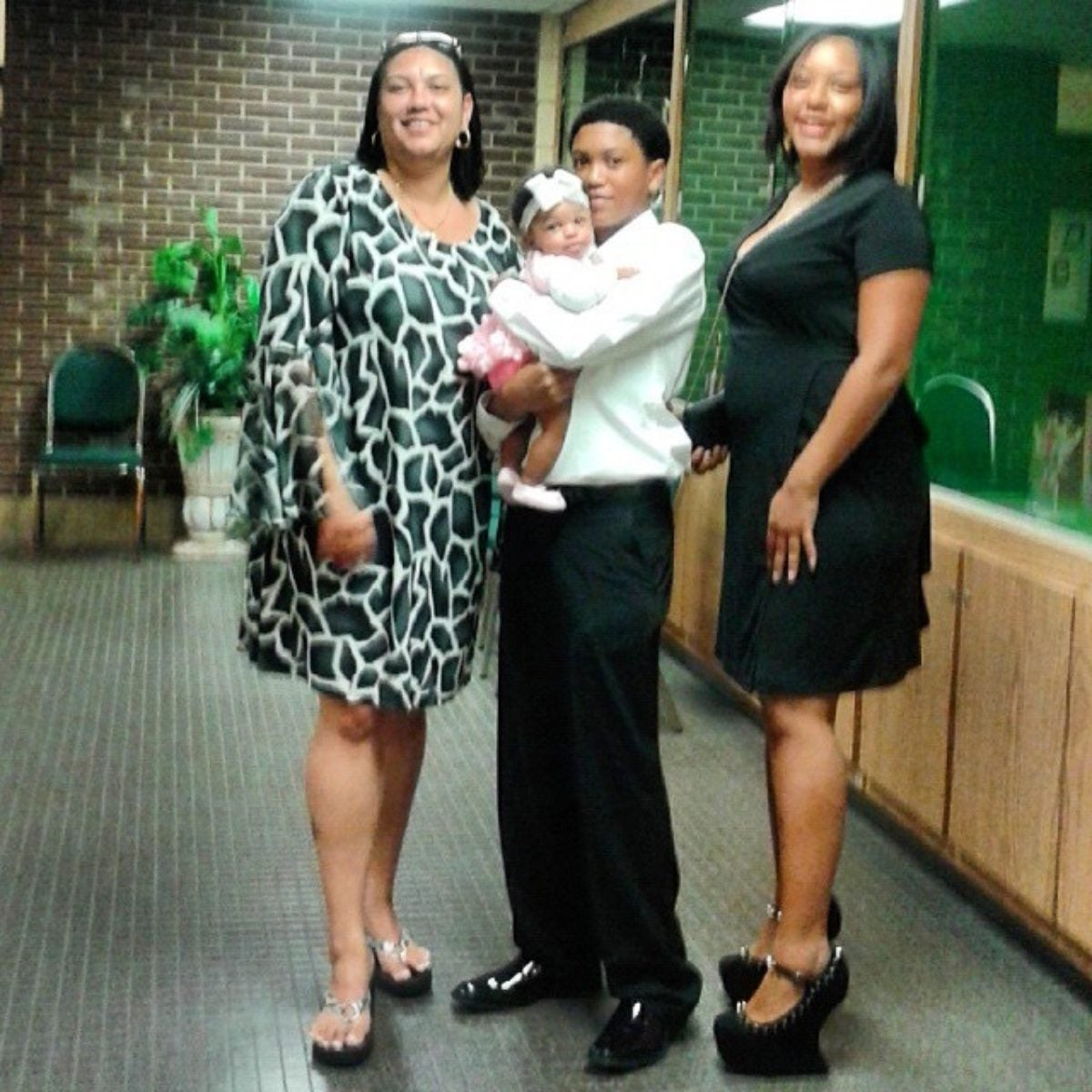 Michelle Kenney, Antwon, his Niece KyChelle Dudley, and sister Kyra Jamison. (Photo Credit: Michelle Kenney)