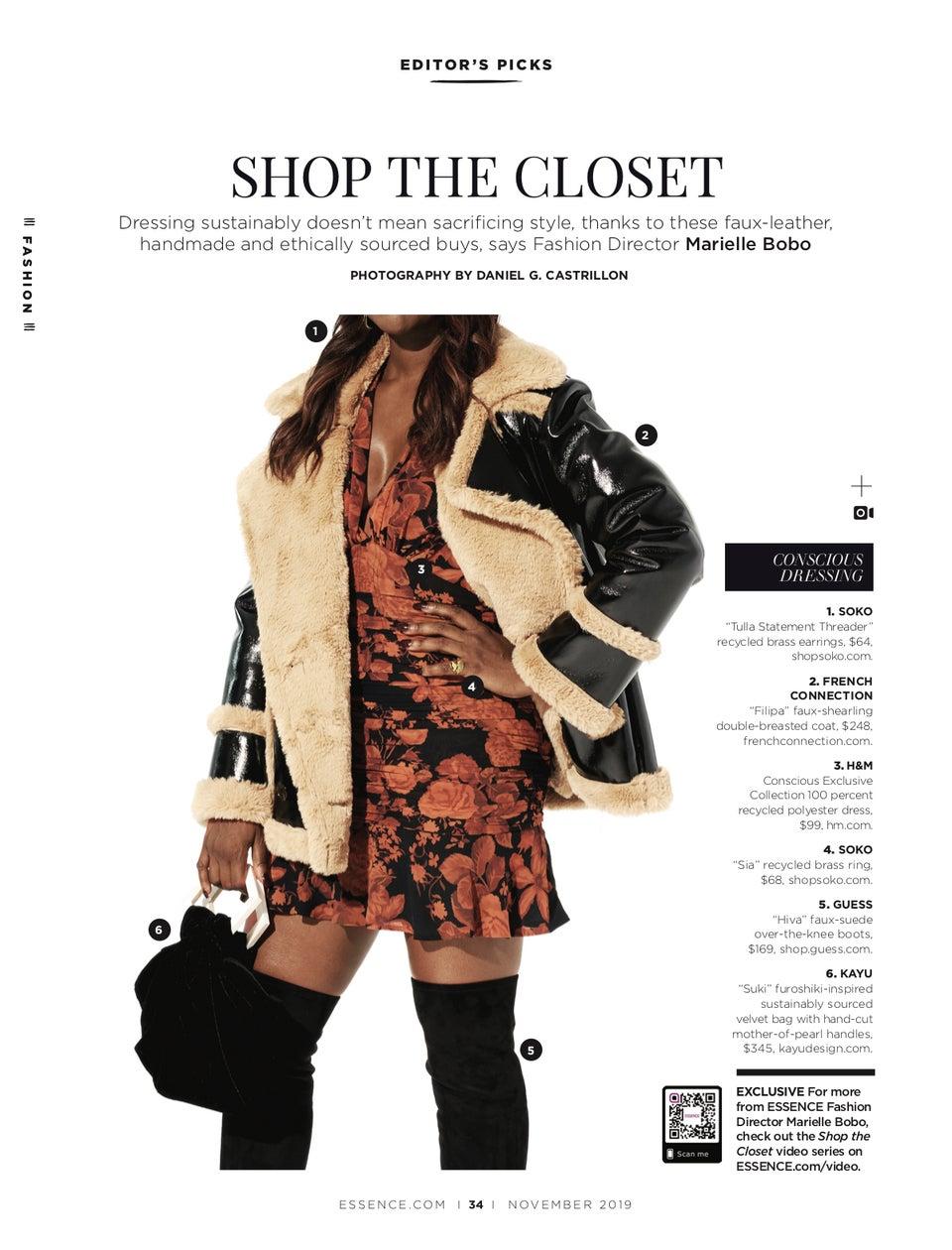 Shop The Closet: Embrace The Art Of Conscious Dressing