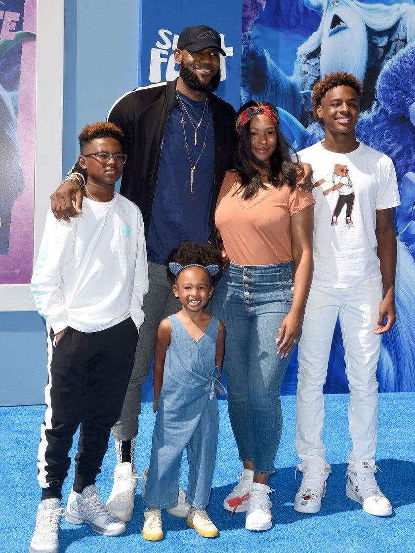 LeBron James's Daughter Zhuri Is Pure Black Girl Magic