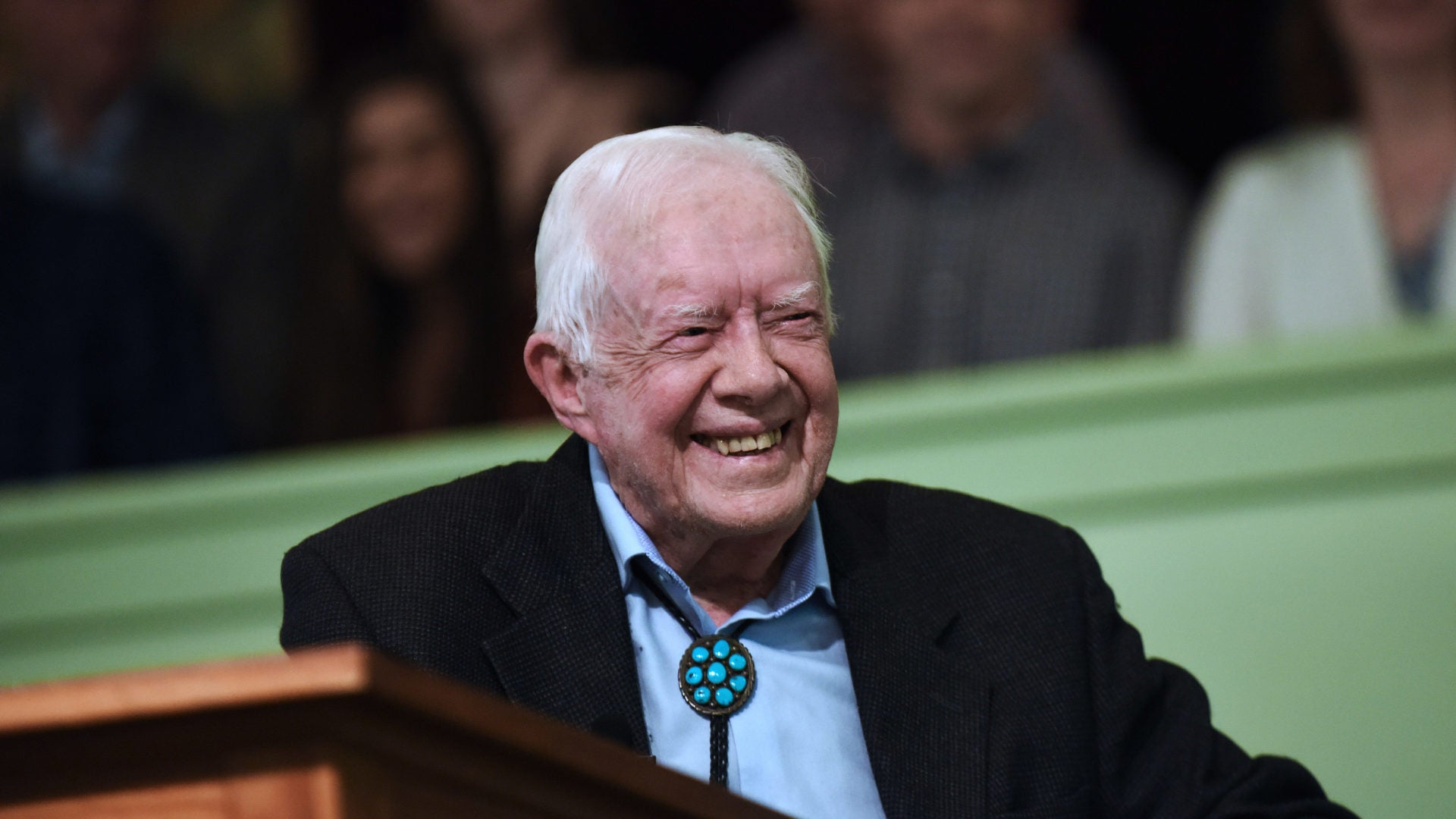 President Jimmy Carter Recovering From Surgery To Relieve Pressure From Brain