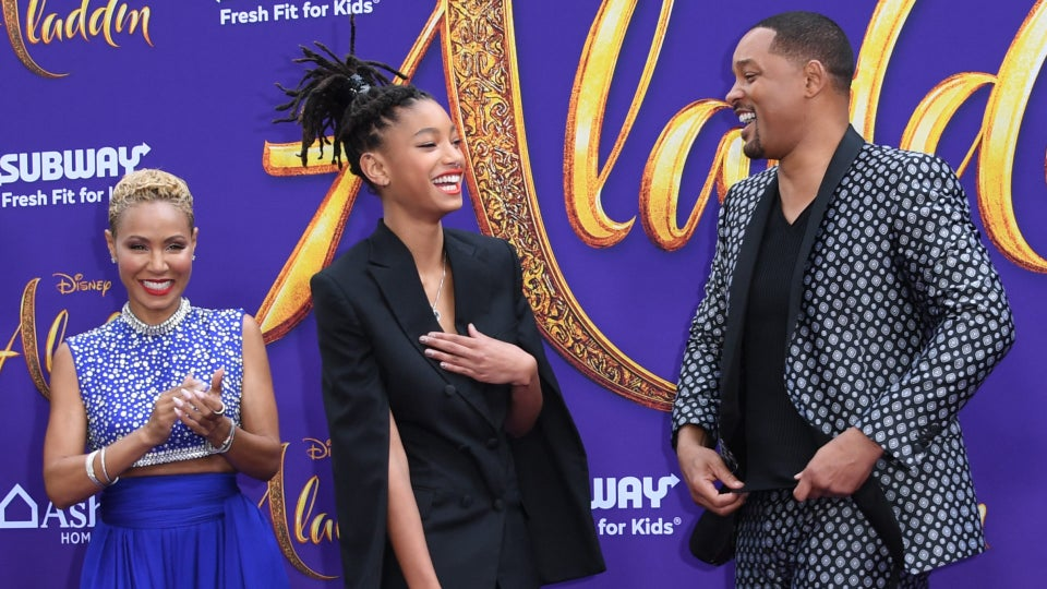 Will and Jada Pinkett Smith Send Birthday Wishes To Their Daughter Willow