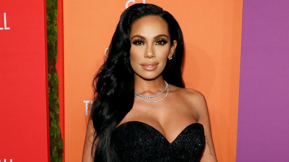 We Can't Get Over Erica Mena's Rose Gold Hair