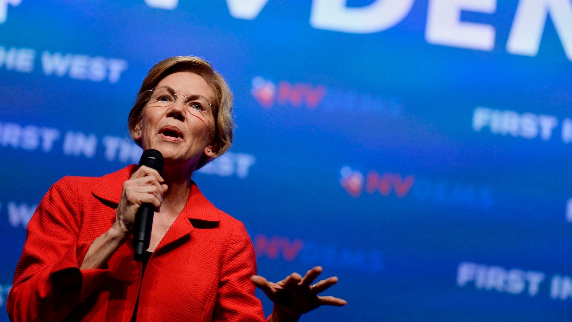 Elizabeth Warren On Marijuana: 'Legalize It'