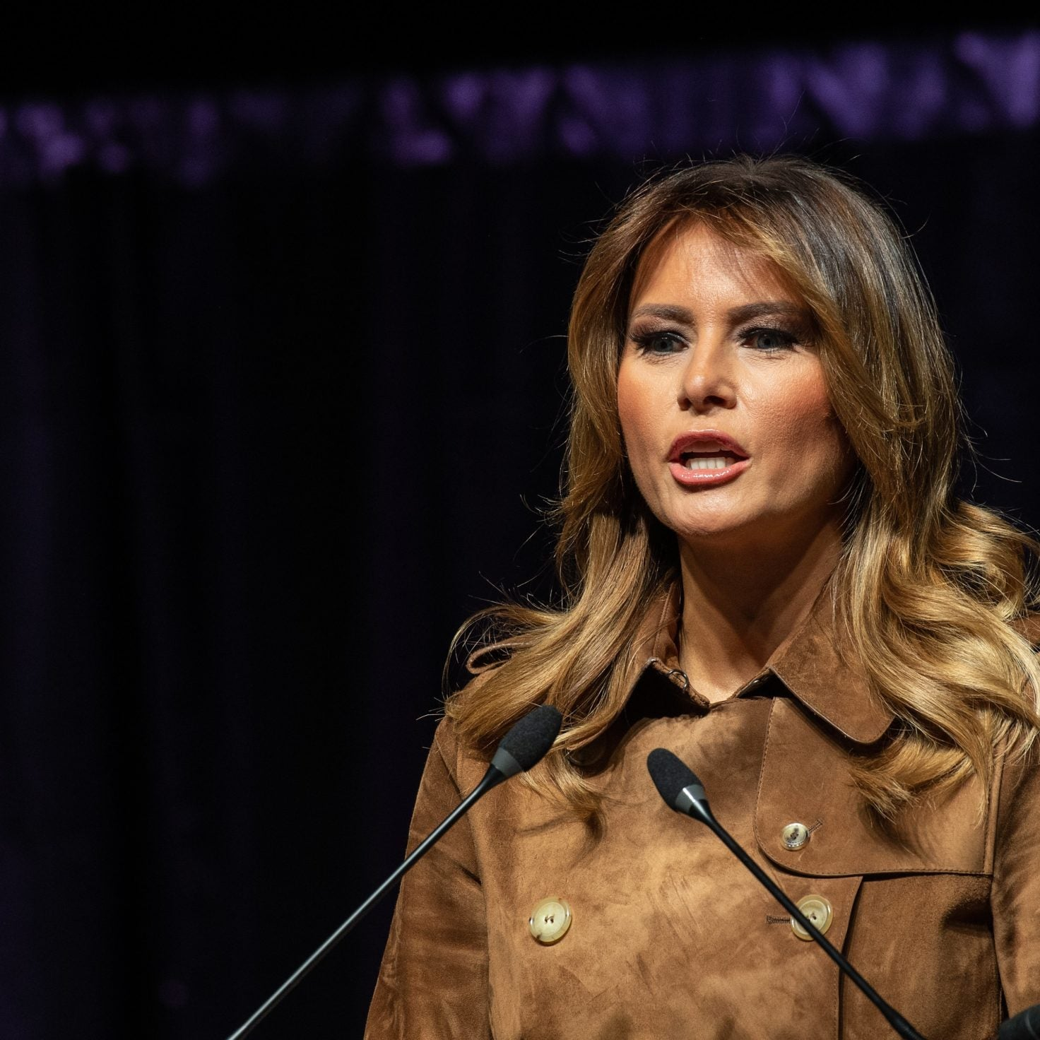 Melania Trump Gets Booed In Baltimore