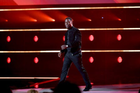 Kevin Hart Makes First Public Appearance Since Car Accident - Essence