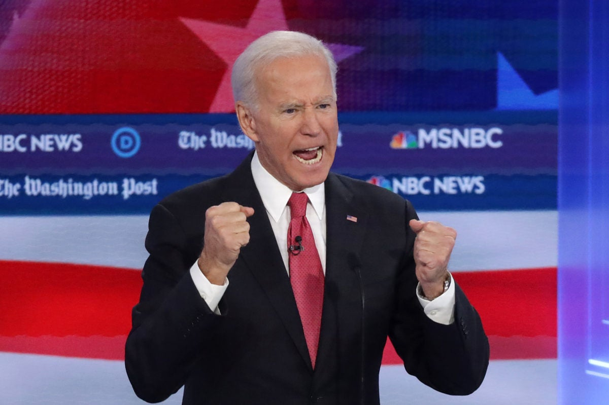 Joe Biden touts Black support on November debate stage