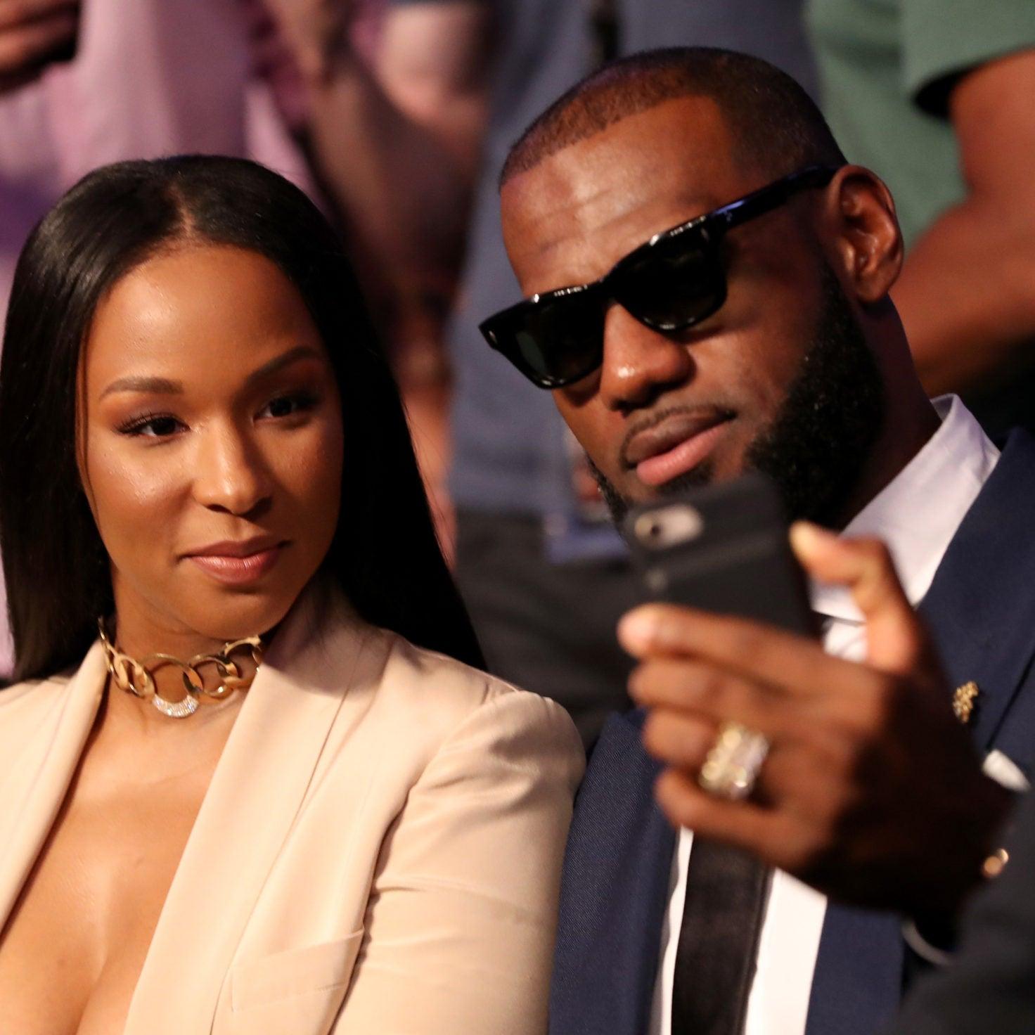We Love That LeBron James Is His Wife Savannah's Biggest Fan