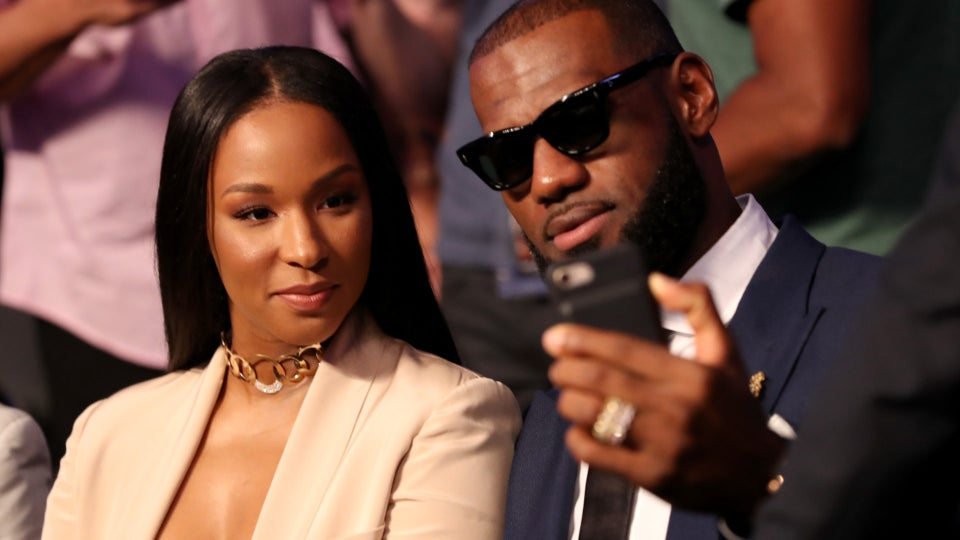 All The Times LeBron James Was Savannah James's Biggest Fan