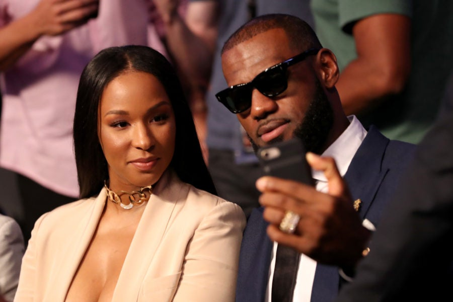 All The Times LeBron James Was Savannah James's Biggest Fan ...