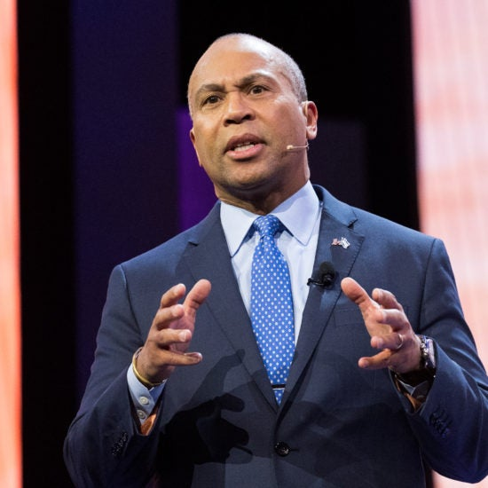 Former Massachusetts Governor Deval Patrick Announces Presidential Run