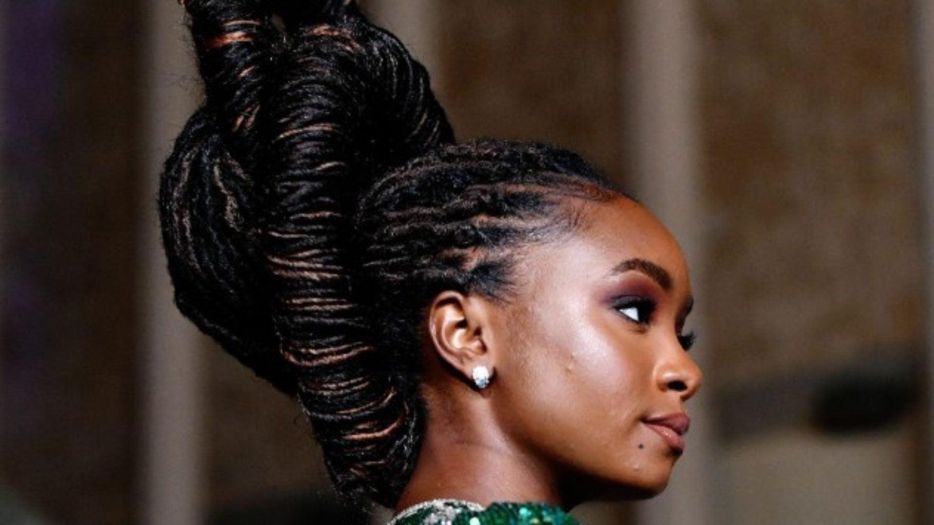 Hairstylist Larry Sims Explains KiKi Layne's LACMA Gala Hair  Masterpiece