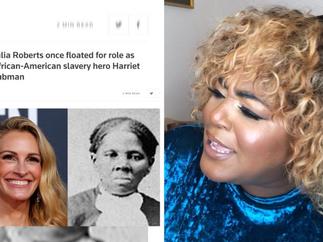 Watch  The OverExplainer React To The Idea Of Julia Roberts As Harriet Tubman