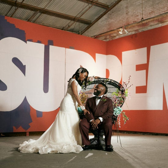 Bridal Bliss: A Round Of Applause For Brittany and Reginald's Woke New Orleans Wedding
