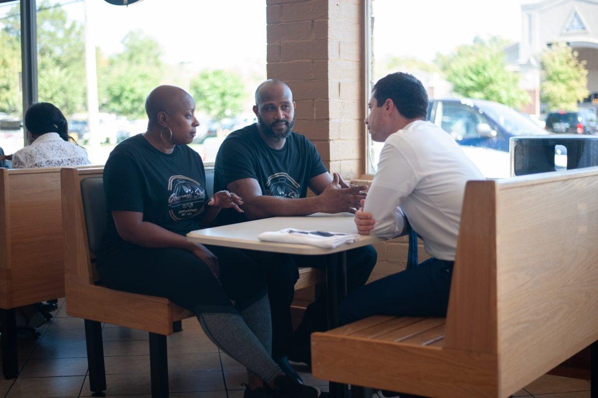 Pete Buttigieg sits down with Black entrepreneurs