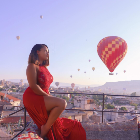 Black Travel Vibes: Soar Above It All In Cappadocia