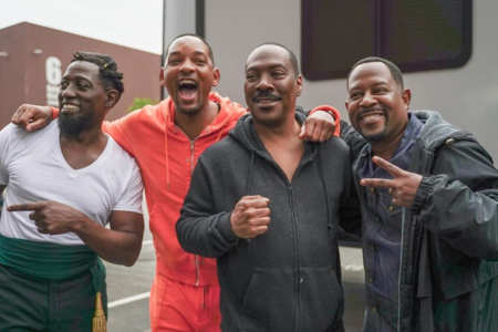 Will Smith Drops Video Behind Epic Photo Between 'Coming To America 2' And 'Bad Boys 3'