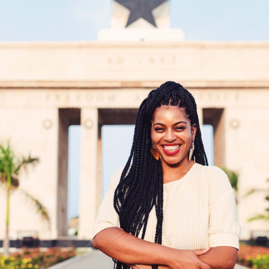 Cherae Robinson of Tastemakers Africa Shows You How To Explore The Flavors Of Ghana