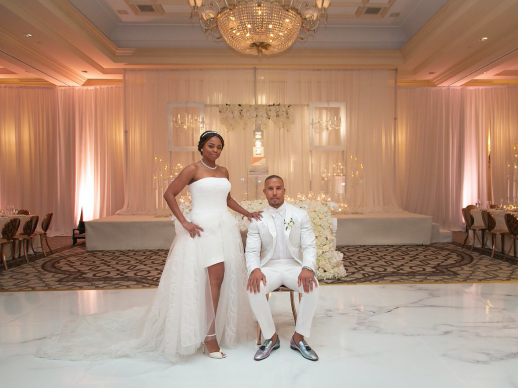 Exclusive Photos Of Jemele Hill and Ian Wallace's California Wedding Ceremony
