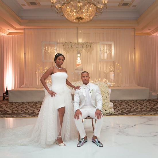 Exclusive: Jemele Hill and Ian Wallace's California Wedding Paid Homage To Their Detroit Roots