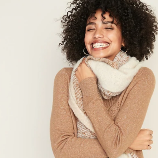 No Windchill Formed Against You Shall Prosper With These Chic Blanket Scarves