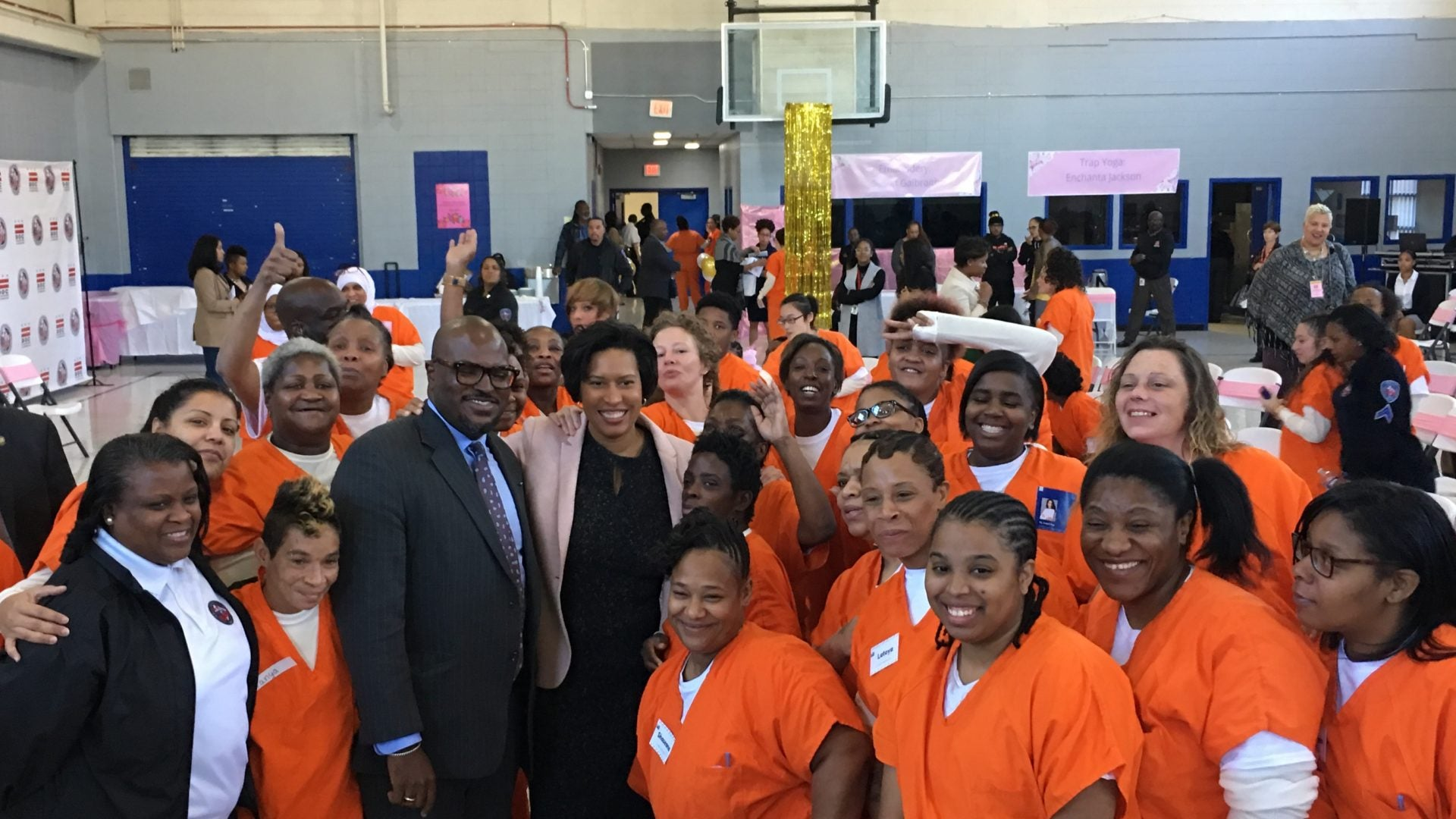 Incarcerated Women In DC Draw Inspiration From Day-Long Empowerment Conference