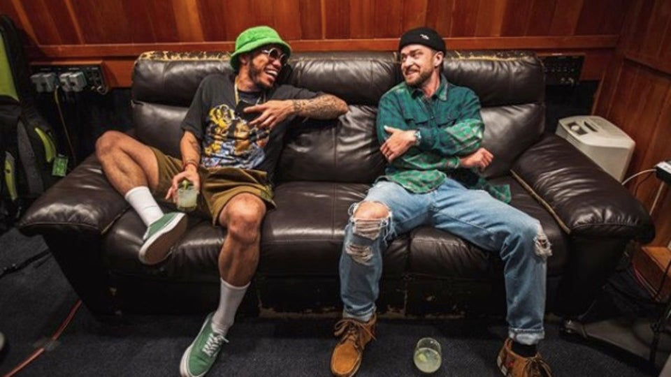 Anderson .Paak Talks Recording With Justin Timberlake For 'Trolls World Tour'