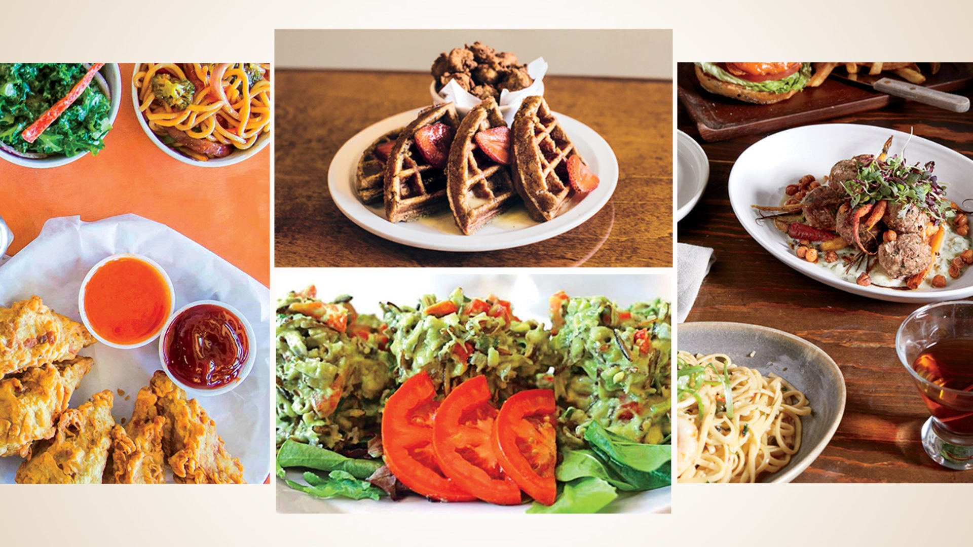 Discover Tasty Vegan Cuisine At These